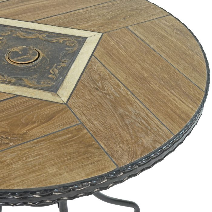 HASLEMERE 71CM BISTRO TABLE DETAIL WS2