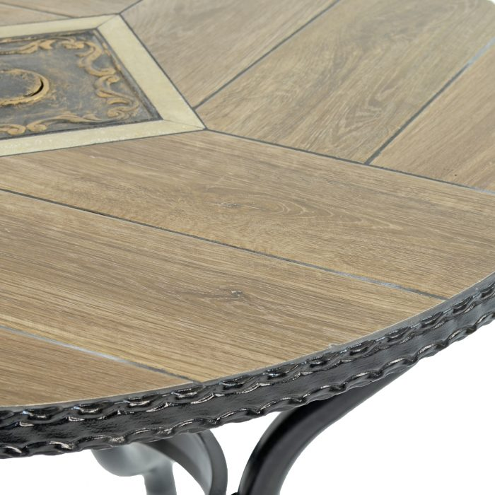 HASLEMERE 91CM BISTRO TABLE DETAIL WS2