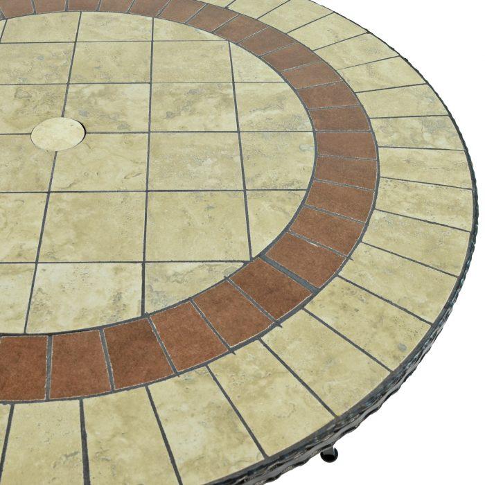 HENLEY 91CM BISTRO TABLE DETAIL WS2
