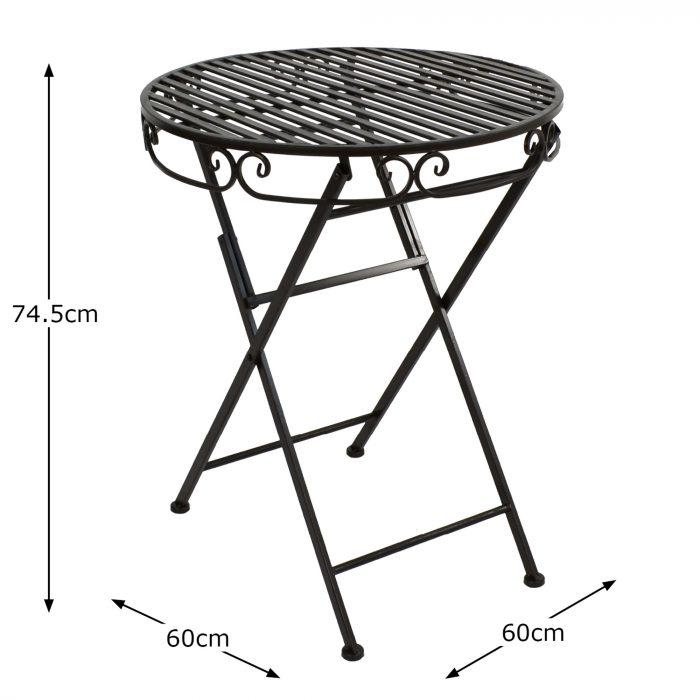 ROCHELLE Table Dimension MS10