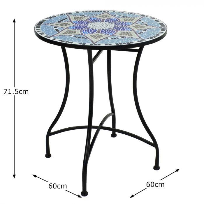 ESCADA 60 TABLE Dimension MS10