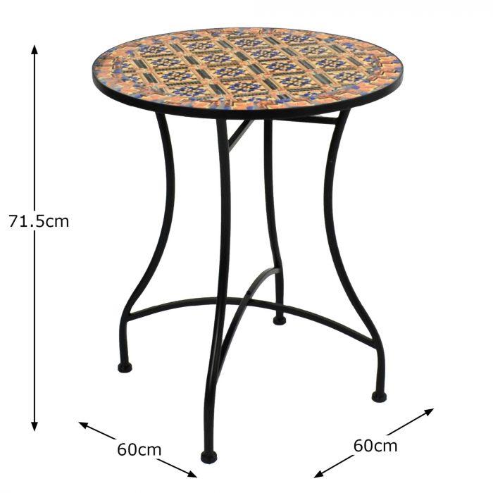 HAVANA 60 TABLE Dimension MS10