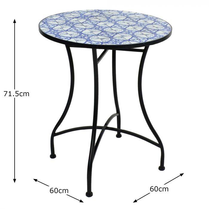 NASSAU 60 TABLE Profile MS10